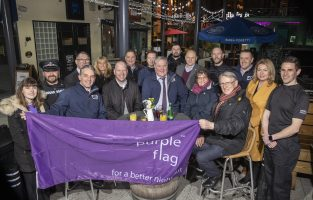 FOR CARDIFF ANNOUNCE THEIR SUCCESSFUL BID TO REMAIN A PURPLE FLAG ACCREDITED CITY